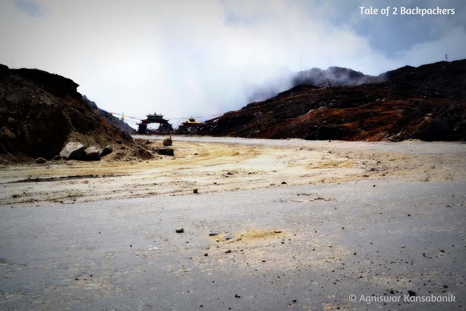 Entering Tawang through the Se La