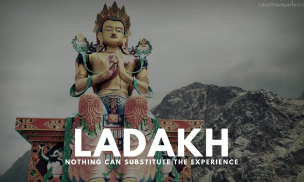 Visit Ladakh – nothing can substitute the experience