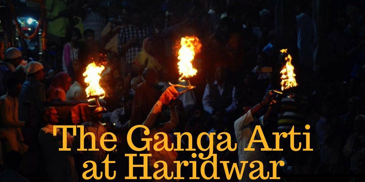 The Ganga Arti at Haridwar