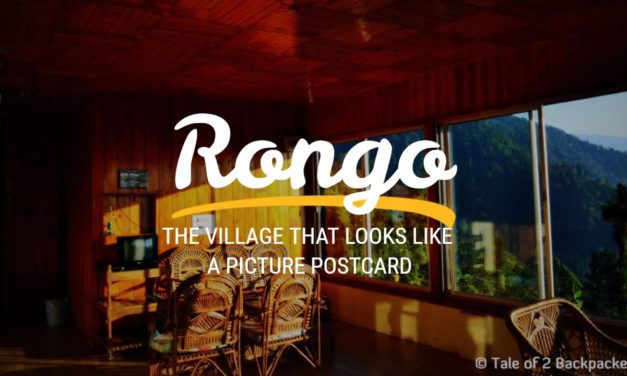 Rongo – the village that looks like a picture postcard