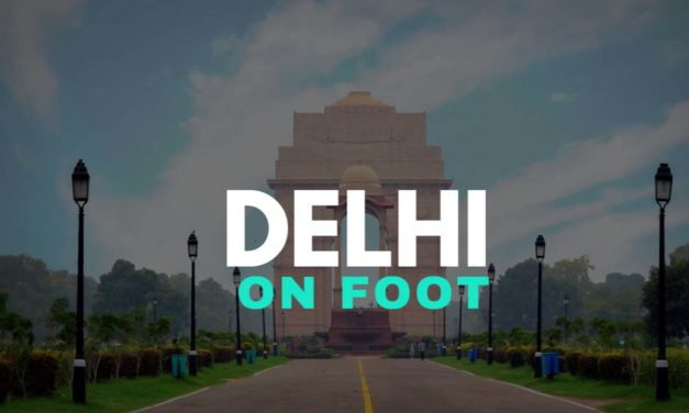 Delhi on foot – Win a self guided City Walks App for Delhi