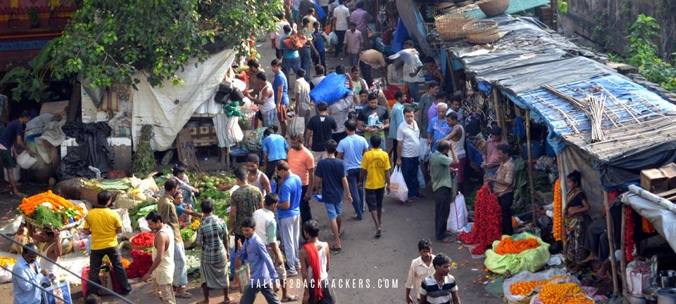 Mullick Ghat Flower Market