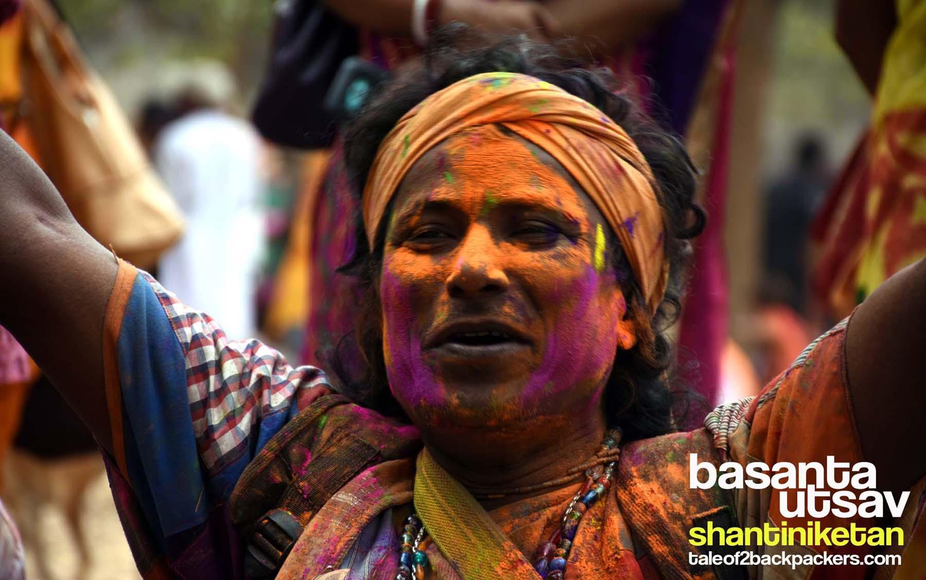 Basanta Utsav at Shantiniketan