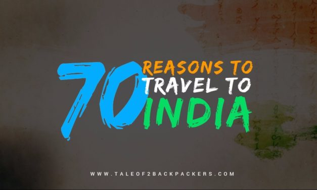 70 reasons to travel to India