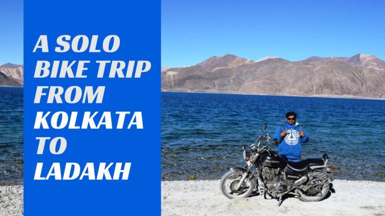 Solo bike trip to ladakh