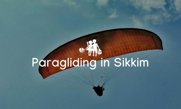 Seeking the thrill of Paragliding in Gangtok, Sikkim
