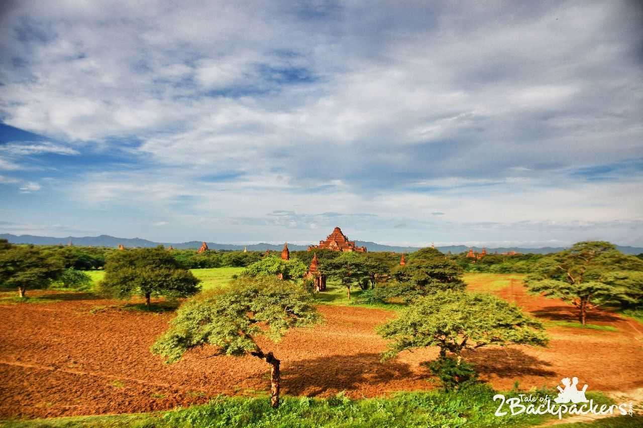 Viewpoints at Bagan Myanmar