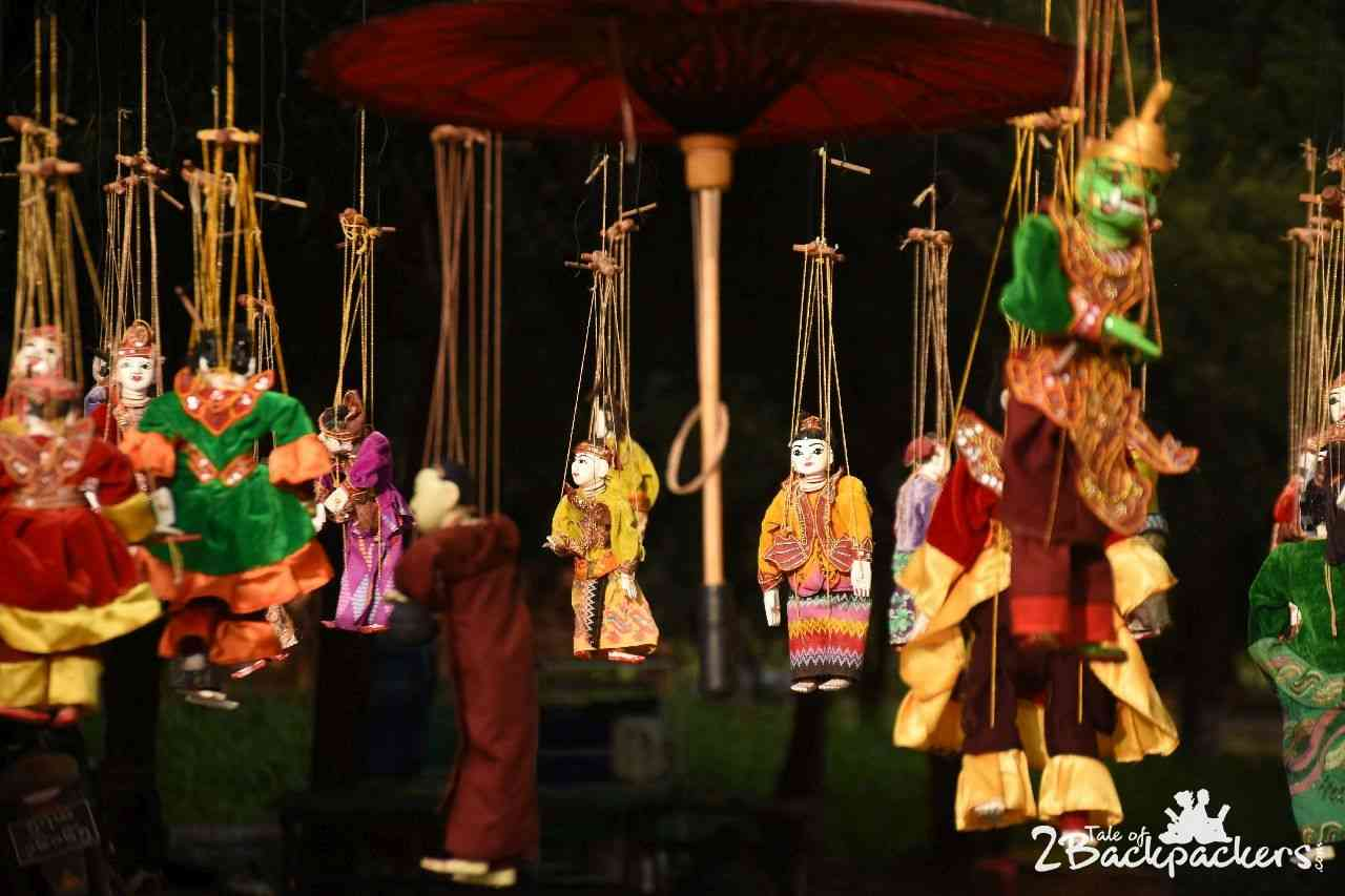Puppet Show at Bagan Myanmar