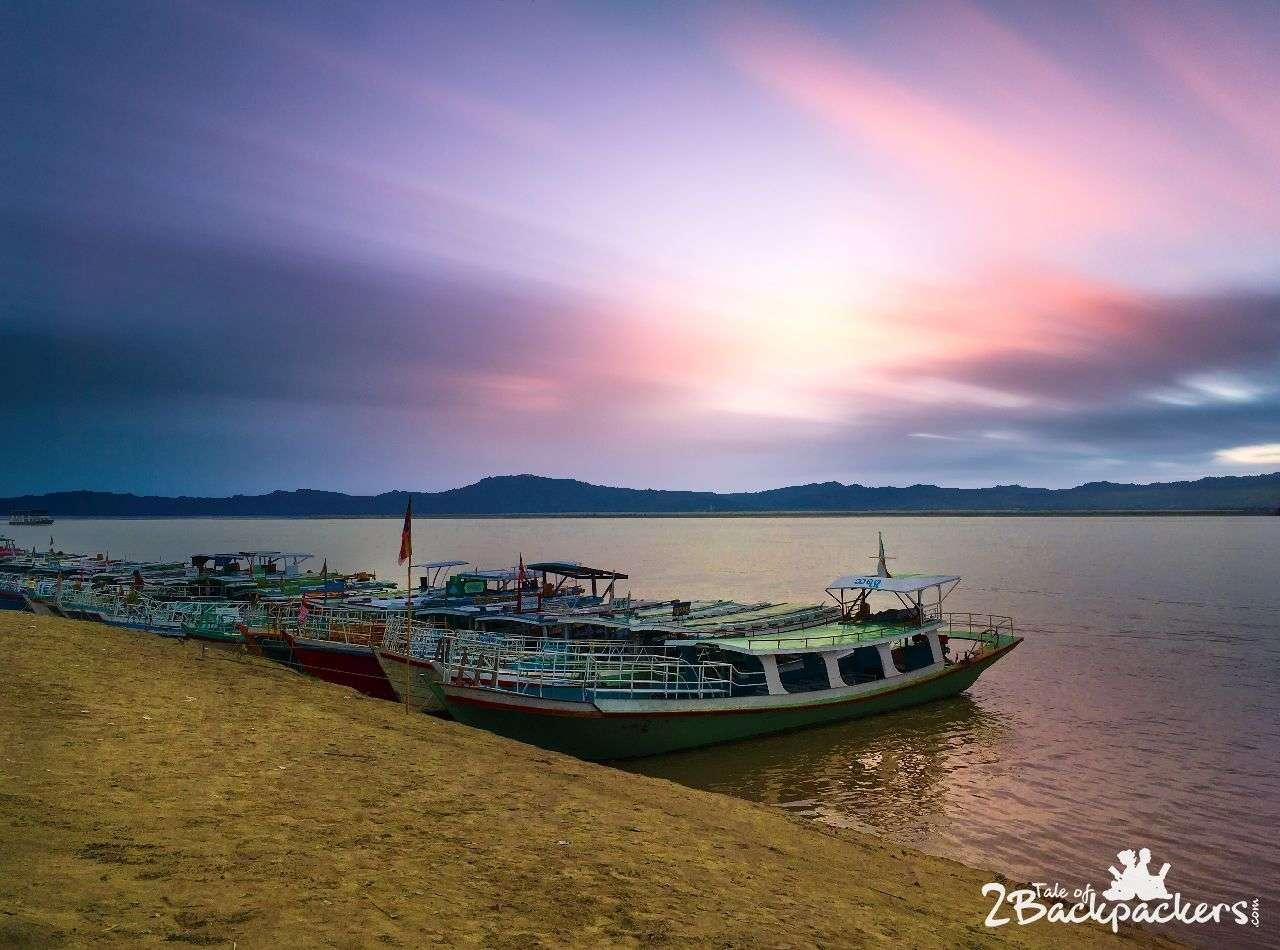 River Cruise at Bagan Myanmar