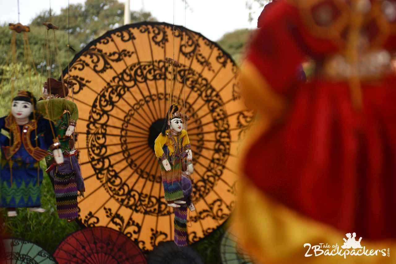Umbrella Bagan Myanmar