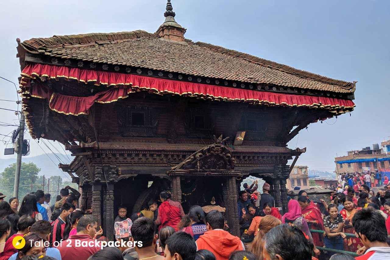 Bhadrakali Temple at Bhaktapur
